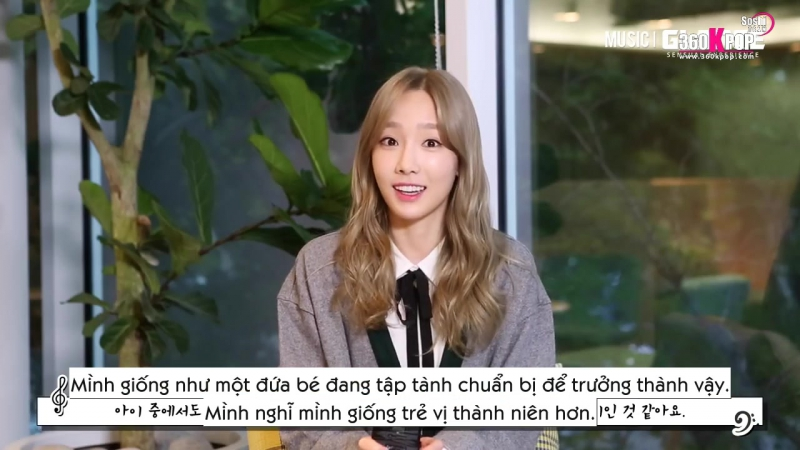 [Vietsub] 151019 Music Glance - Taeyeon (SNSD) Cut (Soshi Team) [360kpop]