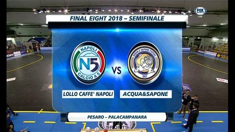 Napoli 2 3 Acqua Sapone d c r Coppa Italia Futsal Ampia Sintesi 24 03 2018