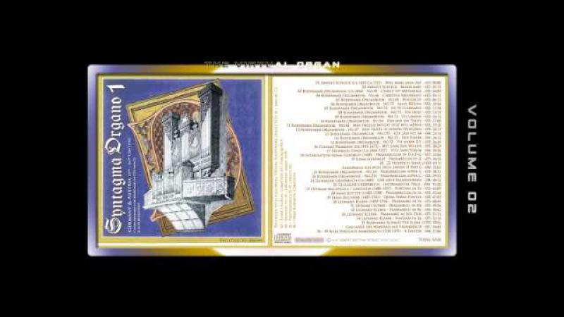 SYNTAGMA ORGANO 01 - Fred G. Pisecki, various organ Sample sets