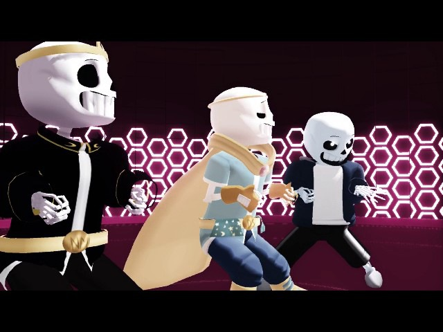 [MMD] Undertale HOTTO DOGU!!
