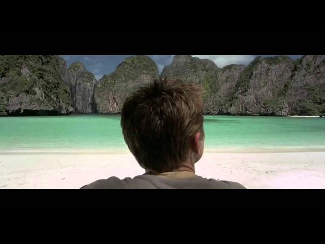 The Beach Movie. Scene of Maya Bay in Phi Phi Islands Thailand.