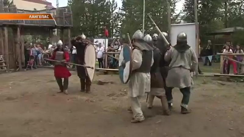 В Лангепасе прошла Таёжная застава