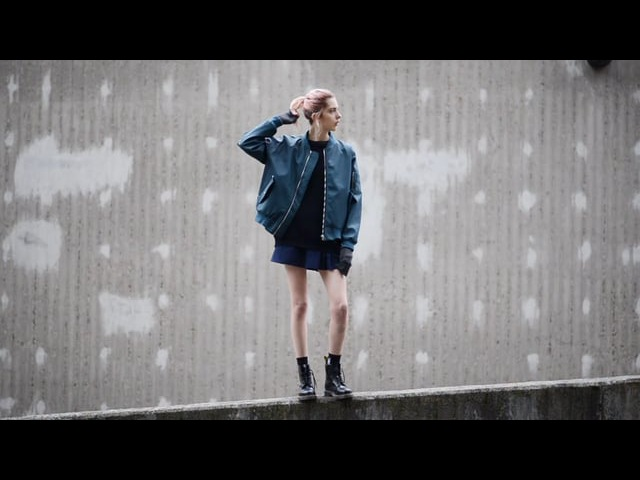 Ebba Zingmark for Stutterheim Alpha Industries 2017