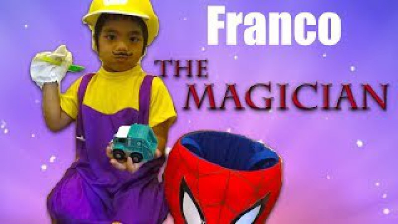 Kid Toys Franco The Magician Play Pretend