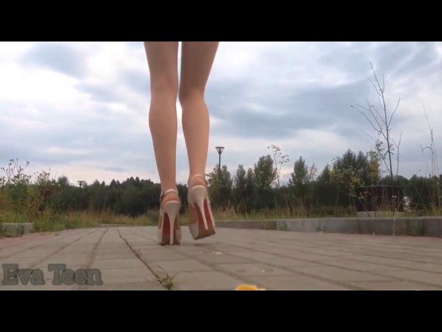 High heels banana crush