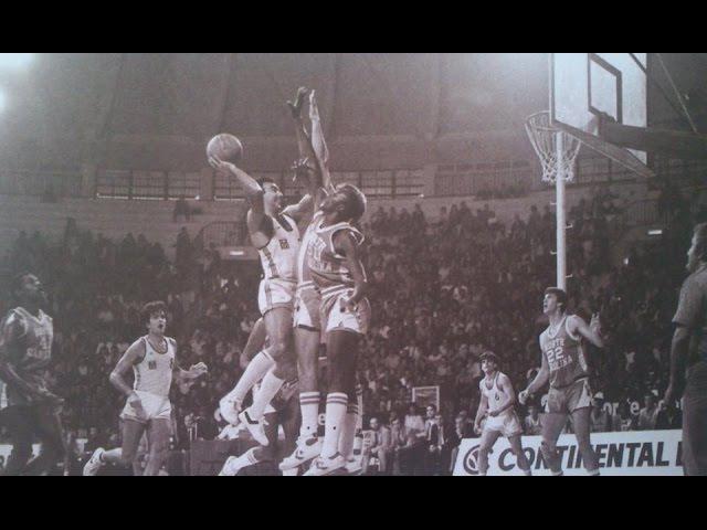 GREECE - NORTH CAROLINA (JORDAN vs GALIS, Oct. 20, 1983)