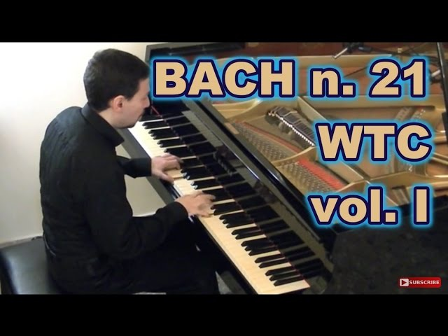 Bach Prelude and Fugue n. 21 in B flat major, BWV 866 from WTC book I