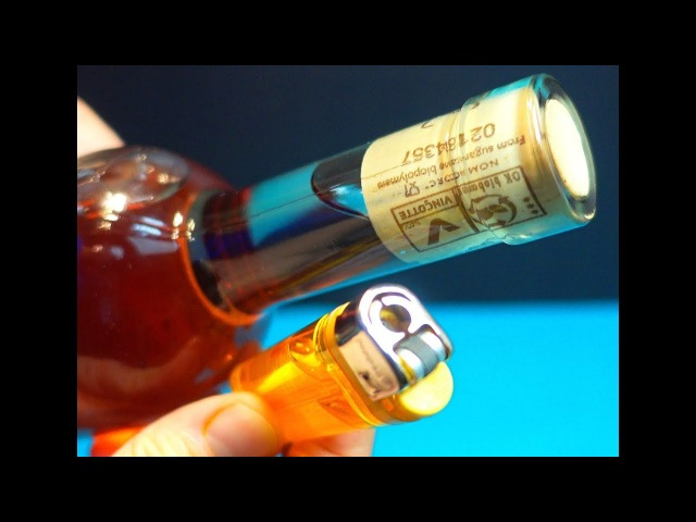 How to Open Bottle of Wine with a Lighter Amazing Wine Life Hack