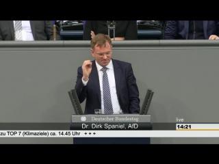 Dirk spaniel afderste großartige rede im bundestagklimaschutzunsinn-