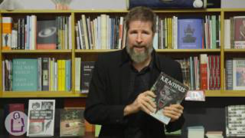Brom introduces Lost Gods at University Book Store - Seattle