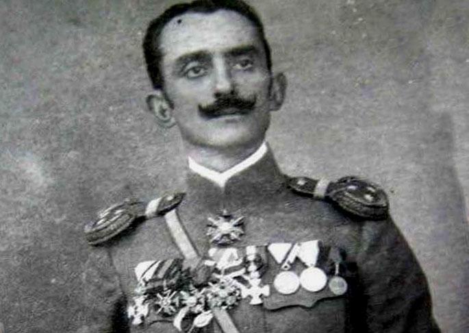 Сербский офицер