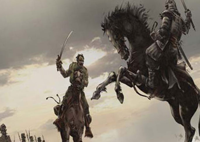 Серб против самурая