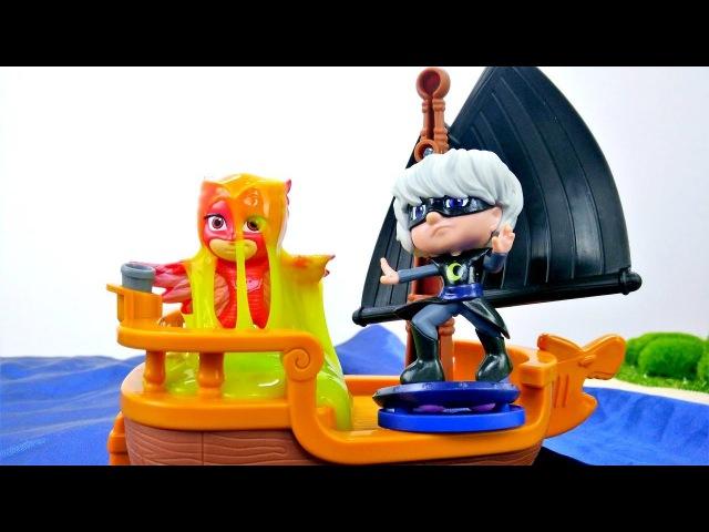 PJ Masks Super Pigiamini nuovi episodi ita-Lunetta ha rubato una mappa del tesoro-Giochi per bambini