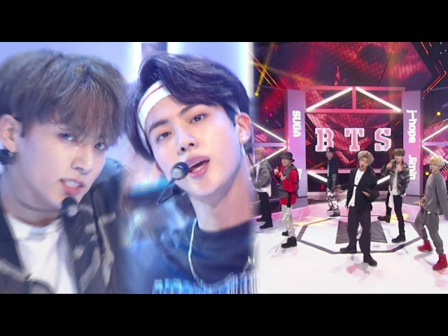 BTS - MIC Drop @인기가요 Inkigayo 20170924