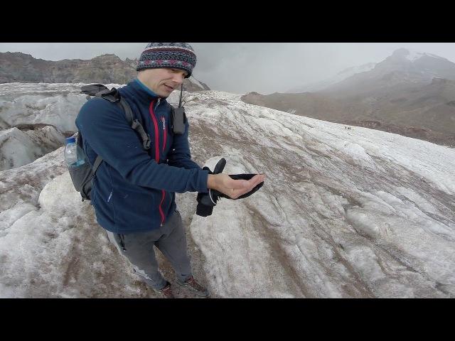 Гергетинский ледник, г. Казбек, Грузия
