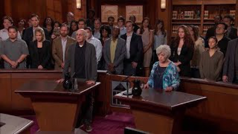 Curb Your Enthusiasm Larry goes on Judge Judy