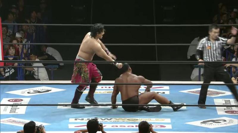 Hirooki Goto, YOSHI-HASHI vs. Katsuya Kitamura, Tomoyuki Oka (NJPW - Destruction In Fukushima 2017)