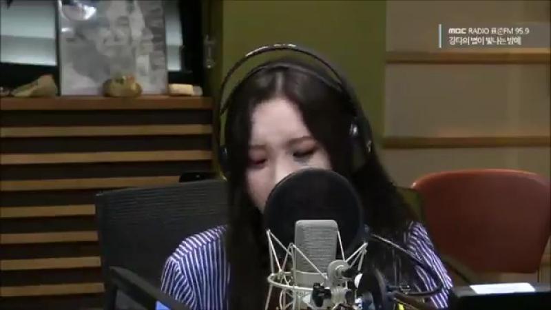 170824 SUNMI Heartburn Alicia Keys cover @ MBC FM Kangta s Starry Night