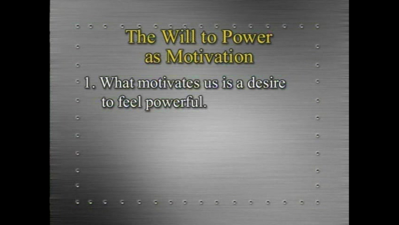 L13 - Nietzsche - The Ubermensch and the Will to Power