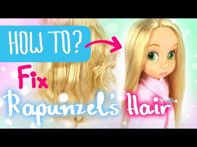 HOW TO - Ep.1 Fix Rapunzel's Nylon Hair