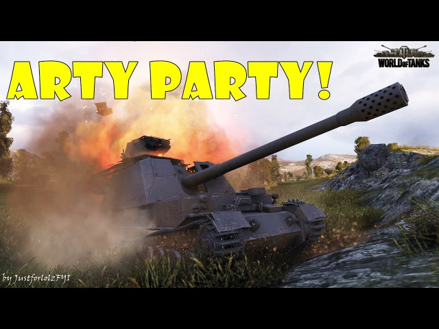 World of Tanks - Funny Moments | ARTY PARTY 12