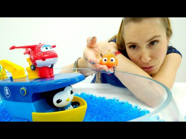 Giochi per bambini con PlayDoh Pizza Focaccia -Impariamo gli animali del mare-Giocattoli a scuola