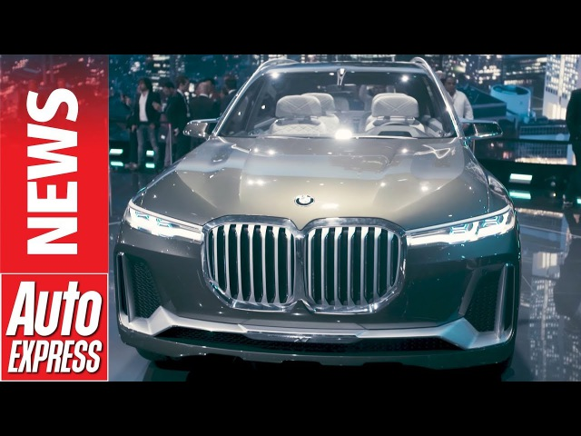 BMW X7 concept unveiled - will it turn heads or stomachs?