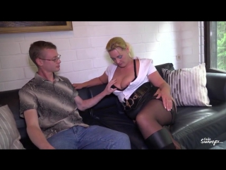 Pd tanja – mature german blondie tanja gets cum on ass in di