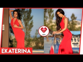 The Magnificent Ekaterina Zueva in a Red Dress! by Tempt App