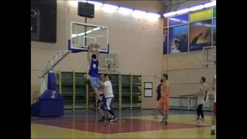 Тренировка Профит Баскет (данки) 2010-12-20