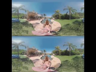 Aubrey Addams - No Time For Yoga (Hardcore, Blowjob, Big Tits, Creampie, Voyeur, All sex, Oculus, 3D, VR, Porn, Pussy, Cunt)