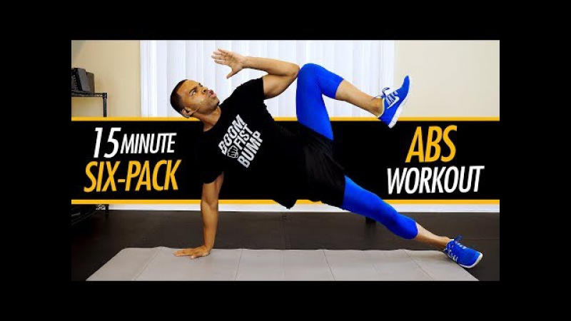 15 Minute Intense Ab Workout Routine Flat Stomach Six-Pack Abs Exercises to Lose Belly Fat