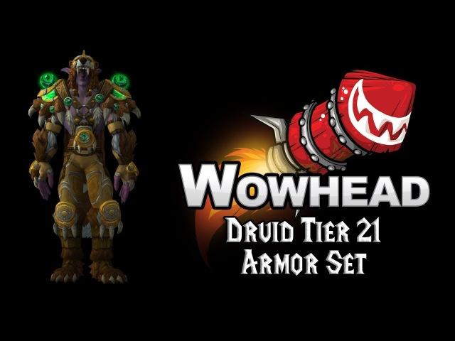 Druid Tier 21 Armor Set - Bearmantle Battlegear