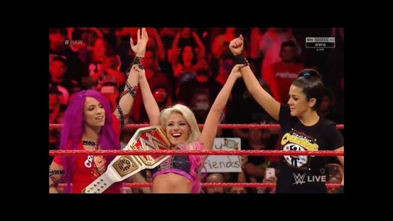 720pHD WWE RAW 09/18/17 Alexa Bliss vs Nia Jax ( Bayley Returns and Attacks Alexa Bliss )