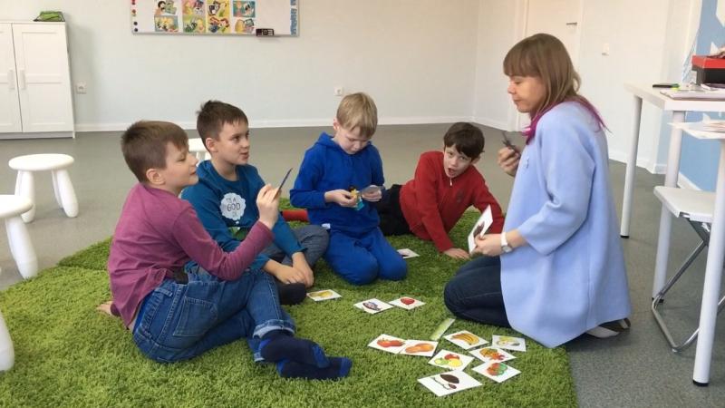 Методика I Love English, курс I Can Read, урок 4-2 часть 3 г.Новосибирск, школа LESKids