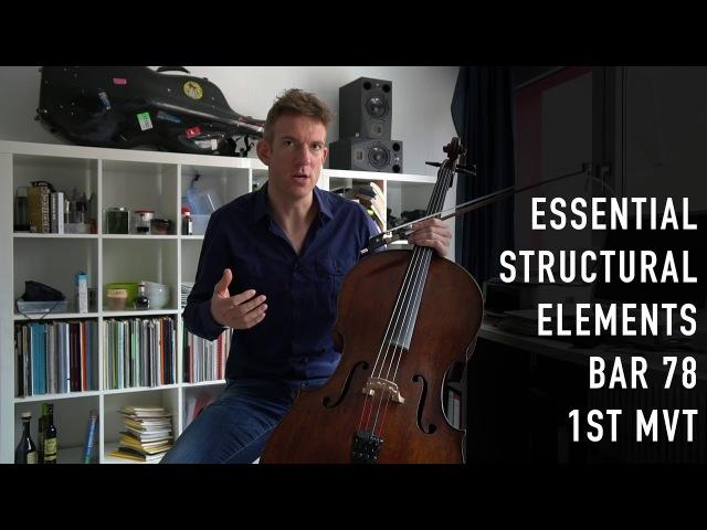The Strad Masterclass: Johannes Moser on Brahms's Cello sonata no.1 op.38 (movements I,II)