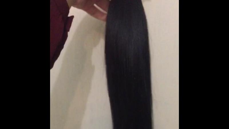 Славянские волосы 160 капсул, длина 65см