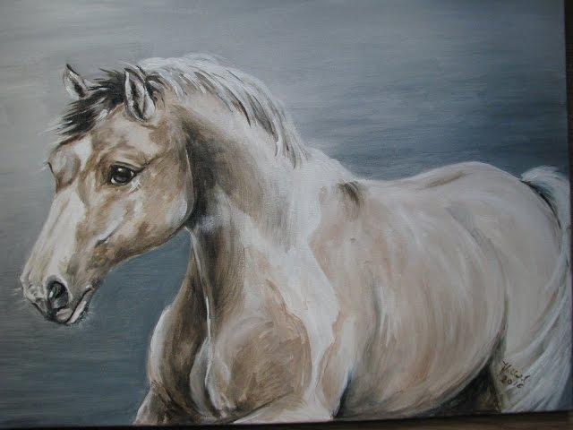 Jak powstaje obraz konia Pomysły plastyczne Joanna Wajdenfeld