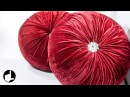 DIY Decoration Ideas for Home Round Pleated Pillows by HandiWorks 123