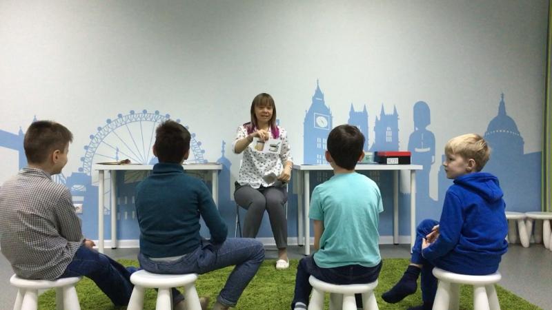 Методика I Love English, курс I Can Read, урок 5-2 часть 2 г.Новосибирск, школа LESKids