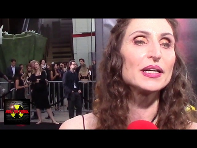 Bonnie Aarons Demon Nun Talks Horror at the premiere of Stephen King's IT