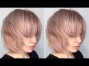 How to cut a Layered Bob - Haircut Tutorial Step by Step - American Salon