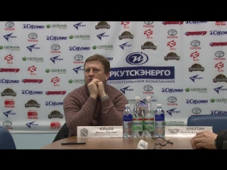 Пресс-конференция  М.Ю. Юрьева и Е.В. Ерахтина