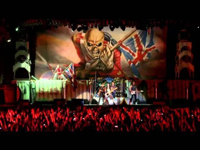 Iron Maiden - Estadio Nacional, Santiago, Chile, 4/10/11 [En Vivo!]