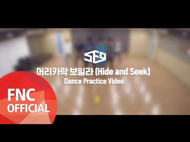 머리카락 보일라 Hide and Seek Dance Practice Video