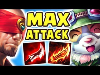THIS IS WHY EVERYONE SHOULD PLAY TEEMO | FULL AD LEE SIN JUNGLE | MAX ATTACK TEEMO JUNGLE Nightblue3