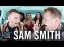 Carpool Karaoke w/ Sam Smith ft. Fifth Harmony