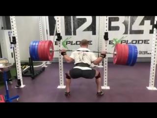 Аркадий Шалоха - присед 290 кг на 5
