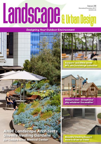Landscape Urban Design November-December 2017