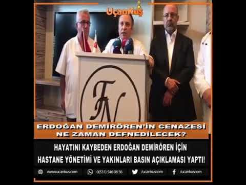 Erdoğan Demirören vefat etti Allah rahmet eğlesin